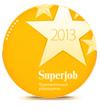 Компания ЯсенБук - привлекательный работодатель 2013 по версии портала SuperJob